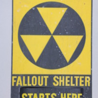Figure 2: Fallout Shelter Sign