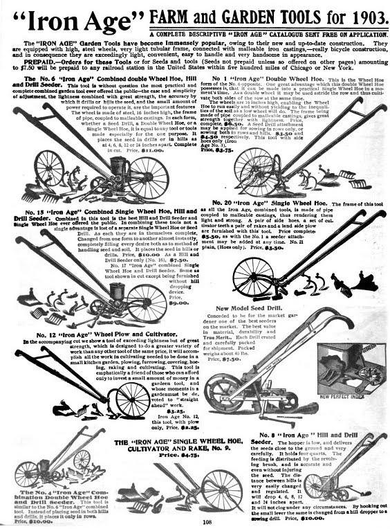 Single-Wheel Hoe · Omaha in the